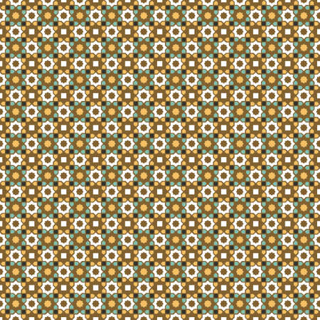 Arabic pattern seamless vector abstract background