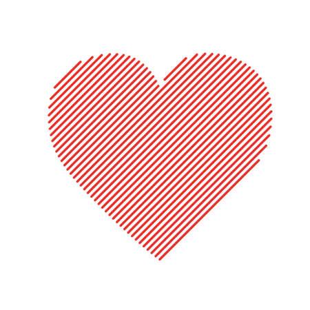 variable: Heart -variable modern line line-