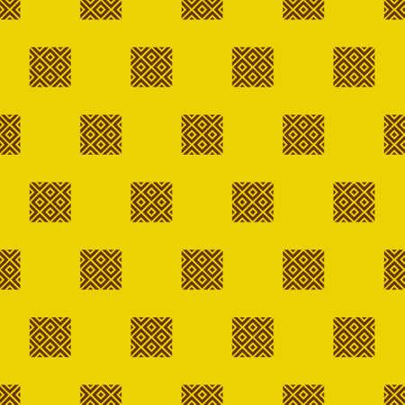 old stamp: Adinkra west african symbols textile pattern vector illustration Illustration