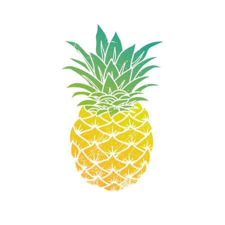 Pineapple modern illustration