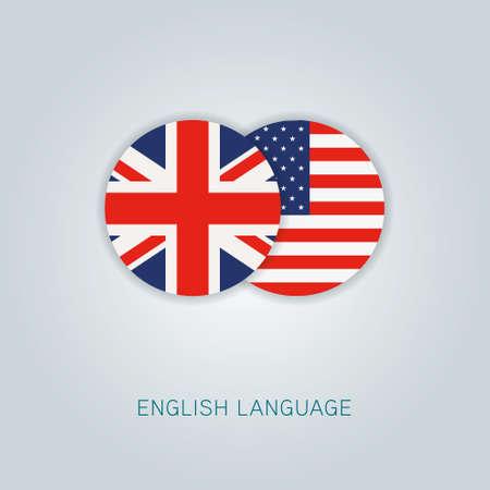 Icono de idioma inglés