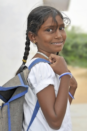 beautiful indian girl face: In the south of India, children live in slums and several international organizations help them. Actually, these boys and girls can go to school every day and to have a better future. One of this organizations obtained one nomination to Nobel prize in 201