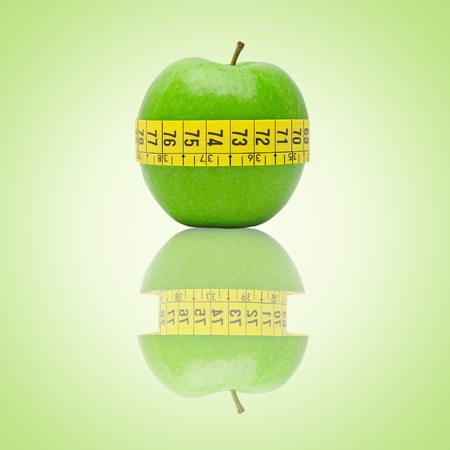 thinness: Eat one apple every day is the best diet.