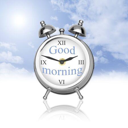 楽観: 楽観的との新しい一日を開始する必要があります。