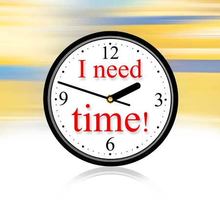 wearied: We need time to enjoy the life.