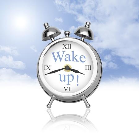 아침: 일어나! 새로운 하루에 오신 것을 환영합니다.