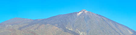 Panoramic view of volcano Teide, Tenerife, Canary islands, Spain Stock Photo