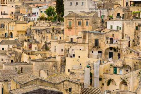MAY, 22 2019. MATERA, ITALY. Amazing landscape with Matera, Italy - European capital of culture in 2019. Sajtókép