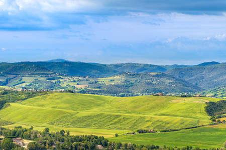 Amazing landscape near Orvieto, Italy, region Umbria. Standard-Bild