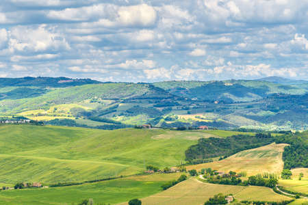 Amazing landscape near Orvieto, Italy, region Umbria. Stock fotó