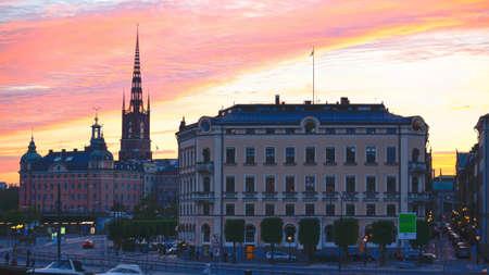 Stockholm Skyline Standard-Bild - 14129816