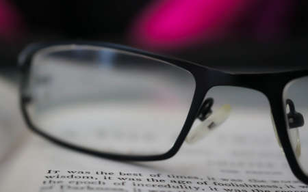 Reading glasses Standard-Bild