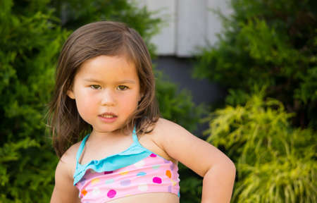 3-year old girl photo