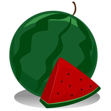 Watermeloen Stockfoto - 49004587
