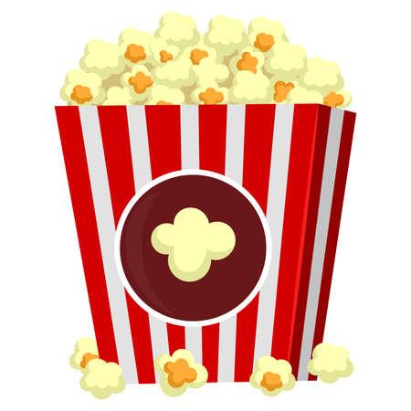 bowls of popcorn: Illustration of Popcorn