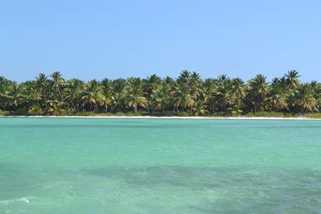 marge: The shore of the Atlantic Ocean. Beach Island. Stock Photo