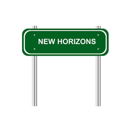 new horizons: Sign new horizons