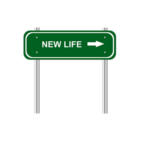 new direction: Sign new life
