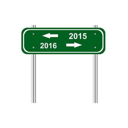 traffic pole: Sign 2015 2016