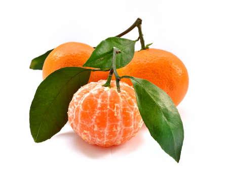 tangerine:  tasty tangerine Stock Photo
