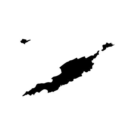anguilla: Map of Anguilla