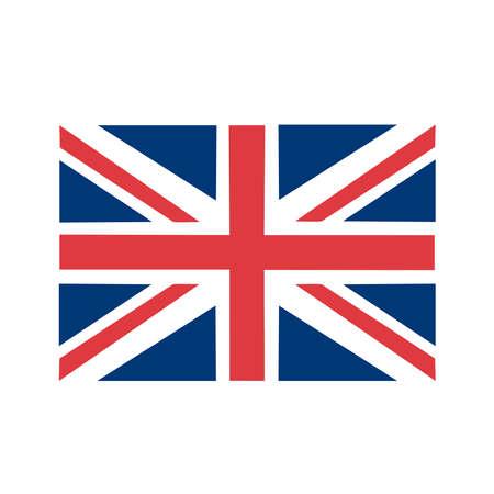 Una bandera de Inglaterra Ilustración de vector