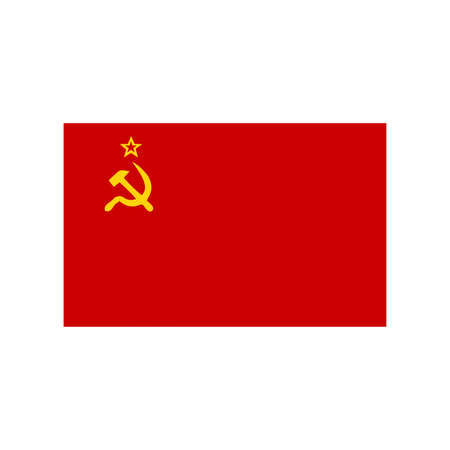 the ussr: A flag of USSR