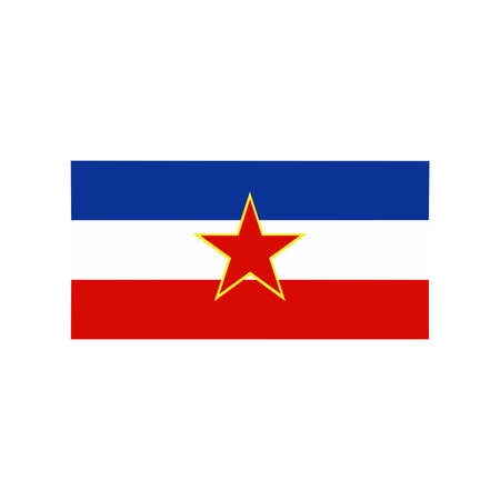 correctly: A flag of Yugoslavia