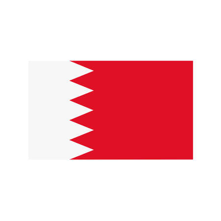 correctly: A flag of Bahrain