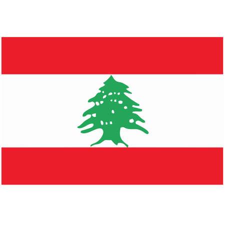 lebanon: A flag of Lebanon