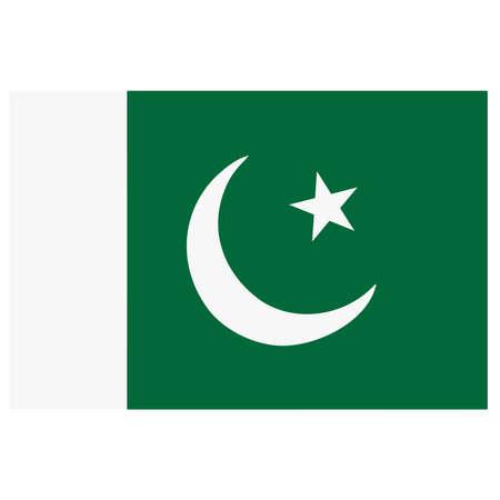 flag of pakistan: A flag of Pakistan