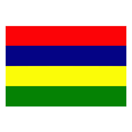 mauritius: A flag of Mauritius