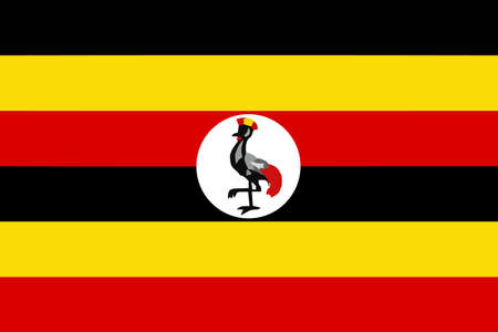 correctly: A flag of Uganda