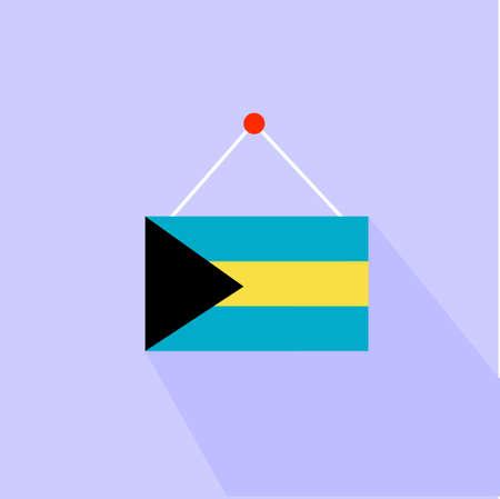 bahama: A map of Bahama Islands