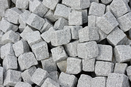 Clean isolation of a bunch of cobblestones.
