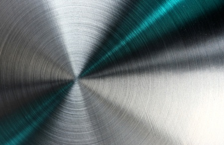 Shiny abstract metallic texture with blue rays pattern. Stock Photo - 12584542