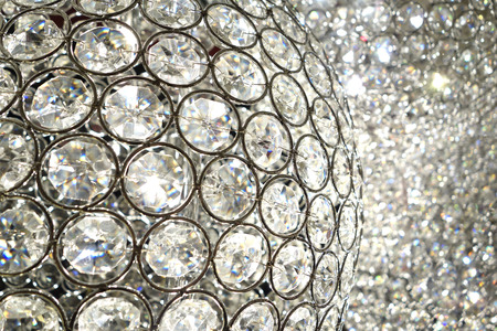 Crystal Bling. Shiny crystal ball lights with high bling factor and luxurious feeling.