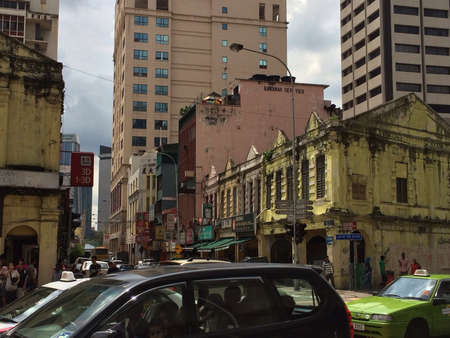 Old buildings near Chinatown