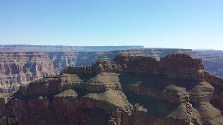 Rocky canyon cliff Banco de Imagens
