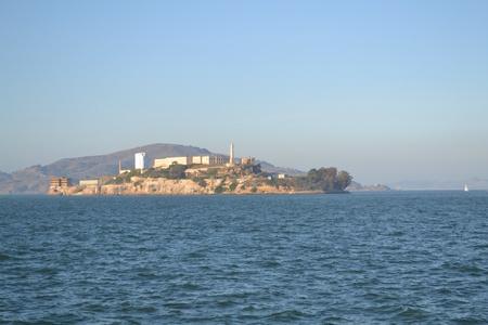 Alcatraz island in San Francisco  Banco de Imagens