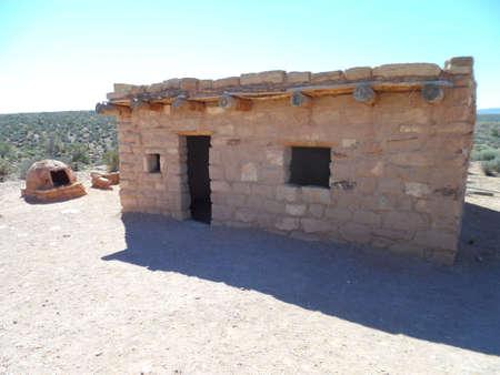 석재로 만든 집 스톡 콘텐츠