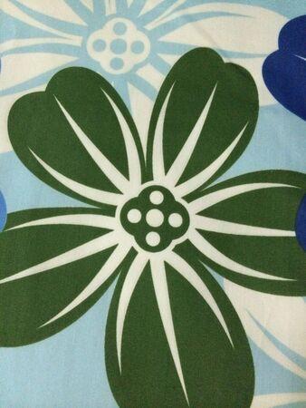 Flower fabric design
