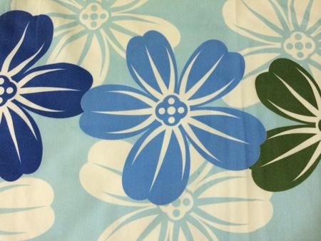 Flower fabric design Banco de Imagens