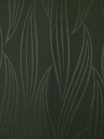 Curtain with leaf design