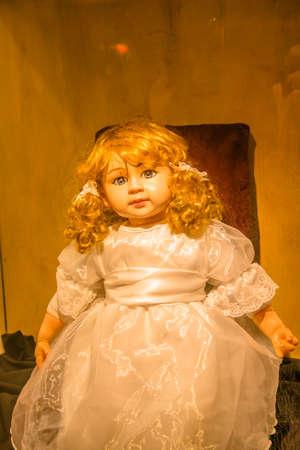 Ghost inside dolls