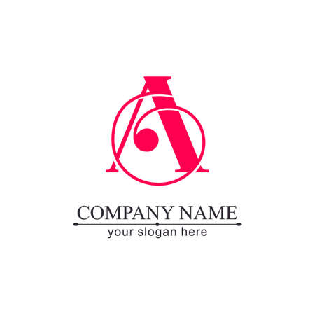 Letter logo or monogram. For your business. Vector sign. Luxurious linear creative monogram.