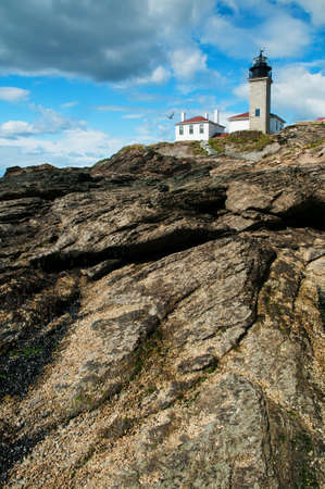 enjoyed: Beavertail Lighthouse is Rhode Islands third oldest lighthouse, sitting atop a scenic rock formation enjoyed by many visitors.