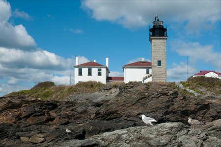 oldest: Beavertail lighthouse is Americas third oldest lighthouse.
