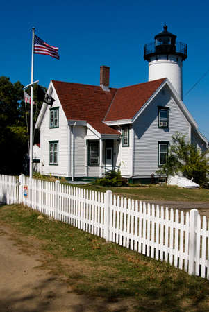 lighthouse keeper: West Chop Lighthouse had a Keeper and his son with the last name of West tend the light for 62 years combined together.