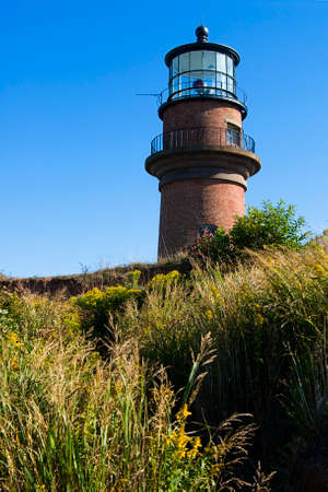 Gay head lighthouse is also referred to as Aquinnah light.